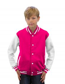 Bedrukt kinder Jacket in 16 kleur-combinaties